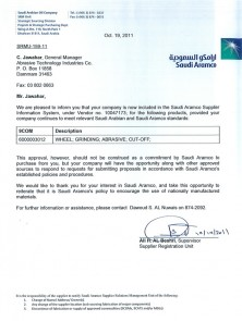 2. Aramco Approval