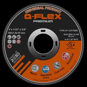 Thin Cutting Disc - Q-Flex